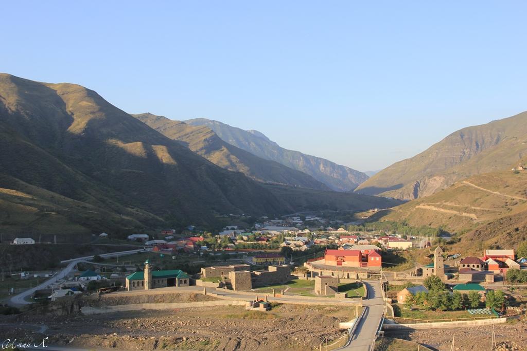 Чечня Итум-Кали, Аргунское ущелье